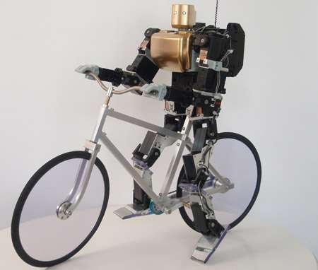 Cyclsing Cyborgs Robots Cycle
