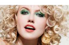 100 Blonde Bombshell Innovations - From Paint Splattered Ads to Dramatic Cosmetic Campaigns