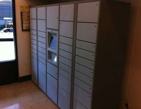 Convenient Book-Delivery Safes - Amazon Lockers are Perfect for Those Who are Impatient
