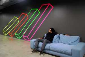 The Aakash Nihalani x Facebook Designs Create a Whimsical Workplace