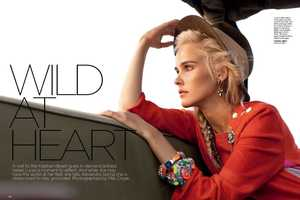 Isabel Lucas by Max Doyle for Vogue Australia December 2011 is Hot