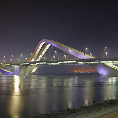 Roller Coaster-Inspired Highways - The Sheikh Zayed Bridge in Abu Dhabi is Extremely Exquisite