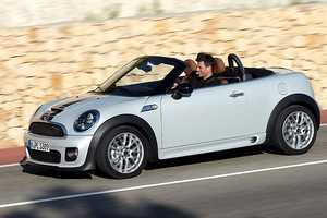 The MINI Roadster is a Two-Seater