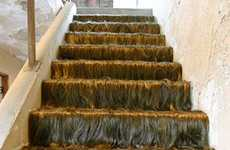 The Bizarre Jessica Wohl 'Hairy Staircase' Art