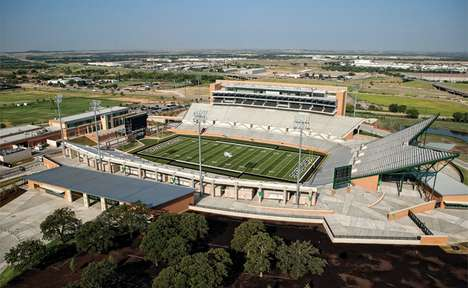 Green Gridiron Stadiums - Apogee Stadium Aims for Carbon Neutrality in all 31,000 Seats