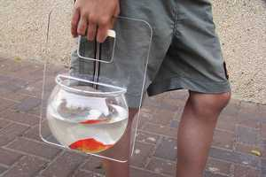 The Portable Aquarium Fishbowl is a Revelation in Pet Walks