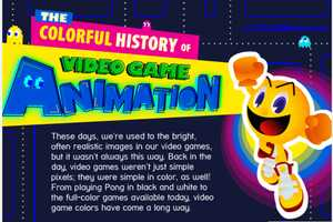 Colour Lovers Presents a Timeline of Video Game Development