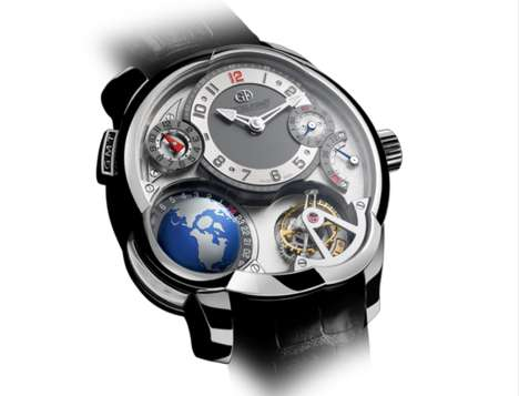 International Time Tellers - The GMT Watch Lets You Know the Hour Around the World