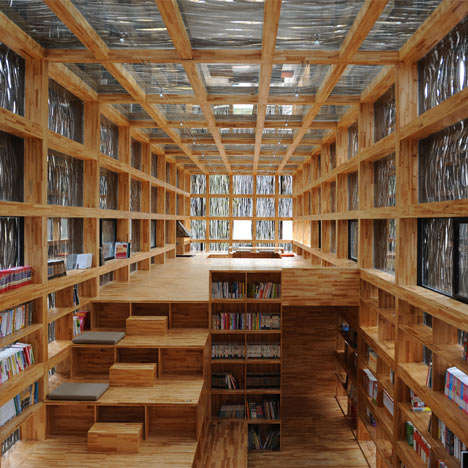 Landscape-Blended Architecture - The 'Liyuan Library' Fuses Nature and Man-Made Structure