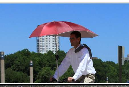 Uberhood Bike Umbrella
