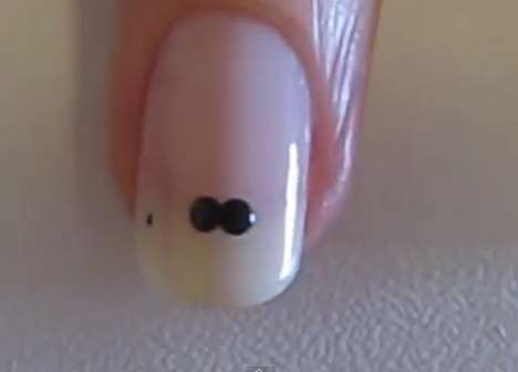Moustache Nails