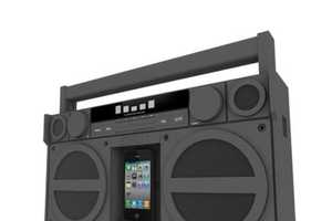 The iHome iP4 is a Modern Take on the Classic Boombox