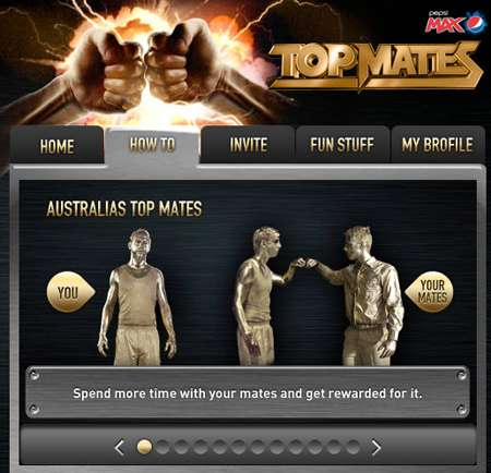 "Social Bromance Campaigns - Win a ""Bro-cation"" With Pepsi Max Australia 'Top Mates"