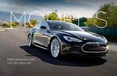 Elegantly Luxurious Electric Cars - The TESLA Electric Car Offers First-Class Performance