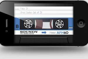 AirCassette Takes Mobile Users Back to the 80s and 90s