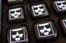 Iconic Slacker Sweets - The Dude Gets Immortalized in the Helluva Caucasian Chocolates