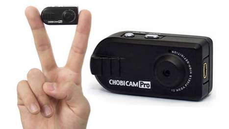 Diminutive Digital Cameras - The Chobi Cam Pro Snaps Photos and Captures HD Video
