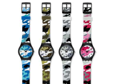 Swatch New Gents Camo Watch Collection