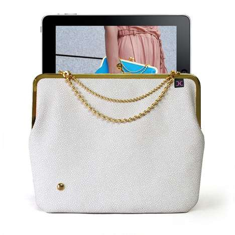 Vintage Tablet Cases - The Duchess Cases by Helek are Inspired by Granny Wallets