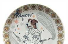 Canine Cowboy Dinnerware