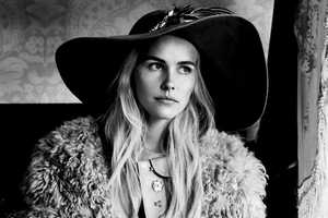 The Isabel Lucas Interview November Editorial is Wistful and Dreamy