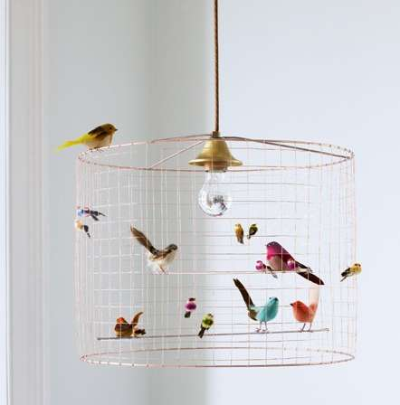 Whimsical Avian Lighting