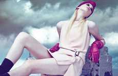 Elegant Magenta Accessories - The 'En Fin' Editorial by Whalen Bryce for L'Autre November 2011
