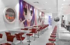 Futuristic Diner Interiors