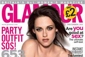 The Kristen Stewart Glamour UK December Shots are Ultra-Chic