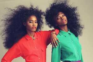 This Itaysha Jordan Shoot Shines With Big Hair and Bold Looks