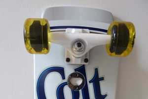 The Colt 45 x Santa Cruz Skateboard Mixes Suds With Street