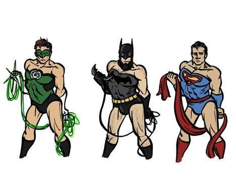 Quirky Superhero Re-Imaginations
