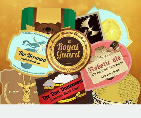 DIY Booze Branding - Put Your Stamp on a Brewskie with the Labeley Custom Beer Labels