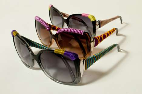 Yarn-Bombed Shades - Proceeds from the Sunglass Hut Knitta Collection Goes to OneSight