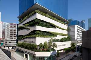 '18 Kowloon East' by Aedas Features an Eco-Friendly Car Park