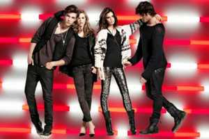 The Armani Exchange Holiday 2011 Ad Campaign is a Celebration