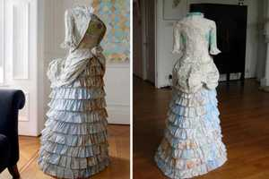 Susan Stockwell Designs Dresses While Studying History