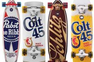 Hit the Streets with Pabst Brewing Company x Santa Cruz Decks