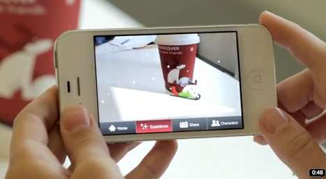Starbucks Augmented Reality App