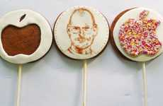 Geeky Charitable Cupcakes - The Steve Jobs Inspired Cake Shop is Taking Europe by Storm