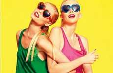 Colorful Fruity Fashion - The Peter Alexander Christmas 2012 Catalog is Made for Resort-Goers