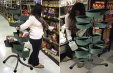 Coat Rack Shopping Carts