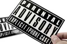 The Parental Advisory iPhone 4 Case Warns Users