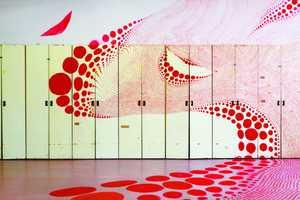 Miharu Matsunaga Covers All Surfaces with Cute Circular Shapes