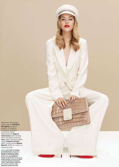 Ashley Smith Elle US December 2011