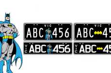 Superhuman License Plates