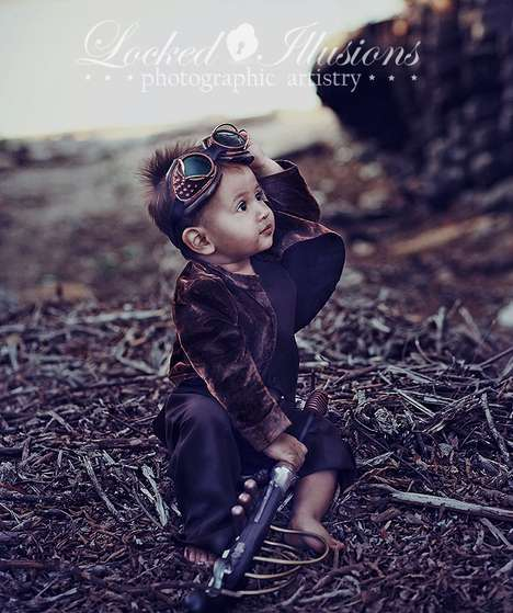 Dark Art Goth Child Photography