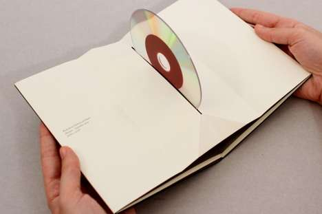 Origami-Inspired Disc Containers - Pago de los Capellanes DVD Packaging is Paper-Folded Ingenuity