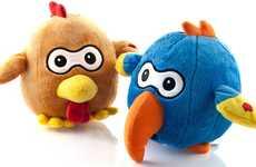 Throwable Toy Messengers