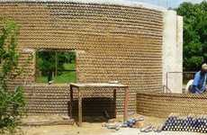 Bullet-Proof Plastic Bottle Homes - Houses Being Built in Nigeria Use 7,800 Plastic Bottles Each
